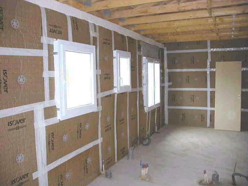 ... Platrerie Isolation Indre Bati Brenne For Isolation Mur Interieur Placo  ...